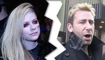 Avril Lavigne & Chad Kroeger -- Calling It Quits After 2 Years Of Marriage