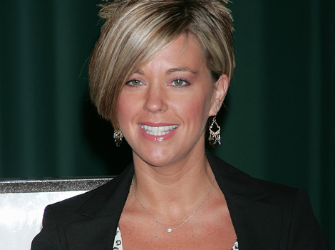 """Kate Gosselin Reacts to Justin Bieber's """"Kate Plus 8"""" Hair: """"He Can Have It"""""""