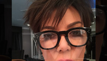 Kris Jenner -- Here's My Proof ... A Spider Made Gave Me a Fat Lip (PHOTO)