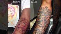 Safaree Samuels -- Buries Nicki Minaj ... Tatt Man Apologizes (PHOTO)