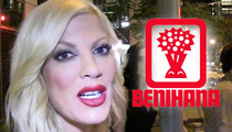 Tori Spelling -- Sues Benihana ... I Got 3rd Degree Burns!!