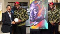 NBA's John Wall -- Gets $20k Portrait From Famed Street Artist