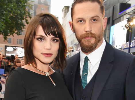 Tom Hardy & Wife Charlotte Riley Expecting First Child Together