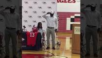 Evander Holyfield's Football Star Son -- COMMITS TO GEORGIA!