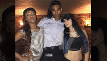 WWE Paige and Alicia Fox -- Drinks Fly Everywhere During Steakhouse Melee