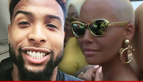 NFL's Odell Beckham Jr. -- 'Early Stages of Dating' ... With Amber Rose