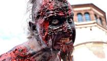 50 Creepy Photos from German Zombie Gathering -- Ze Walking Dead!
