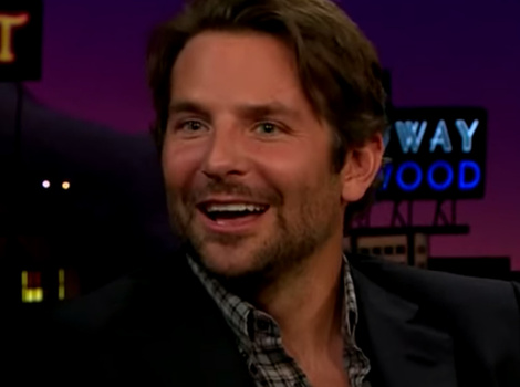 """Bradley Cooper Shows Off Body Popping Skills on """"Late Late Show"""""""