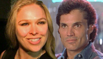 'Road House' -- Ronda Rousey Gets Blessing From Throat Rip Guy