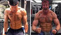 Steve Weatherford's Flexin Photos -- Kick Off Football Season With This Studly Punter!