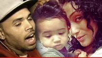 Chris Brown -- Scores Win Over Baby Mama