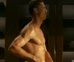 Cristiano Ronaldo Strips Down To Just a Towel in New Fragrance Commercial --…