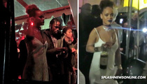 Rihanna -- Throws Insane Block Party During NY Fashion Week (VIDEO)