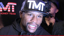 Floyd Mayweather -- I Like My Gloves Just Like My Money ... GREEN!!