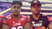 2 College Football Players -- Shot Outside House Party