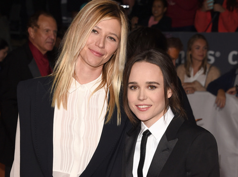 Ellen Page Goes Public With Girlfriend Samantha Thomas -- See Their Red Carpet…