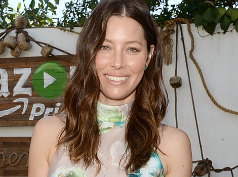 Jessica Biel Shows Off Slim Post-Baby Bod At Amazon Event