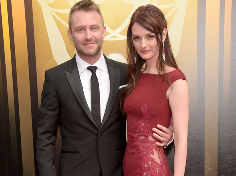 Chris Hardwick and Lydia Hearst Are Engaged -- See Her Gorgeous Ring!