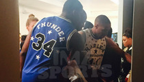 Harlem Globetrotters -- We're Balling at Fashion Week ... Thanks to Angela Simmons! (PHOTOS)