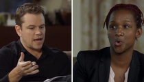Matt Damon -- Who Needs Racial Diversity Behind the Camera? (VIDEO)