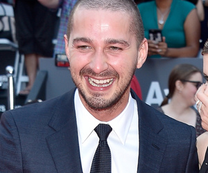 "Shia LaBeouf Looks Happy & Healthy with Kate Mara at ""Man Down"" Premiere"