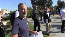 Jon Stewart -- Retirement Trumps Covering the Donald (VIDEO)