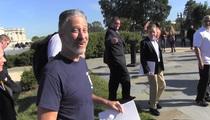 Jon Stewart -- Retirement Trumps Covering the Donald (VIDEO)