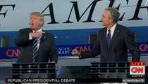 Trump to Bush -- I Could Have Owned You if I Wanted! (VIDEO)