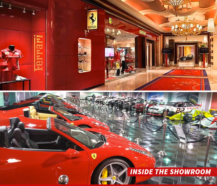 Ferrari Dealership: Steve Wynn's Las Vegas Hotel -- 35 Ferraris Get The Boot