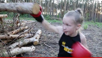 Ronda Rousey 2.0 -- This Little Girl Has Some Serious Skills (VIDEO)