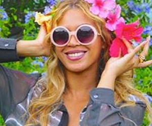 Beyonce Posts Rare Photo of Blue Ivy on Vacation -- She's So Big!