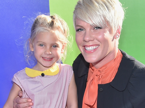 P!nk and Carey Hart's Daughter Rides Her First Motorcycle -- See the Pics!