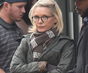 """Michelle Pfeiffer Resurfaces on """"Wizard of Lies"""" Set In Full Ruth Madoff Costume"""