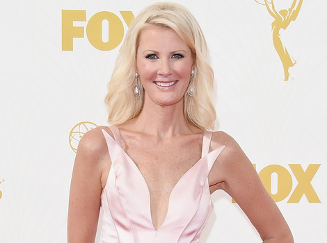 Sandra Lee Makes Does First Red Carpet Since Double Mastectomy at 2015 Emmy Awards