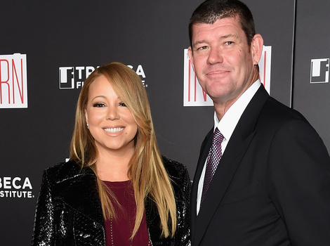 Mariah Carey Makes Red Carpet Debut With Boyfriend James Packer