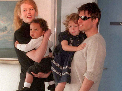 "Nicole Kidman Says It's ""Very Important"" for Her to Stay In Touch with All Four Children"