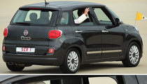 Pope Francis -- Cruisin' D.C. ... In A Fiat!