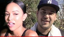 Karrueche Tran -- It's Not What You Think With Rob ... Just Oral Surgery