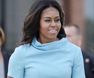 Michelle, Malia & Sasha Obama Look Picture Perfect For Pope's Visit