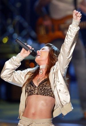 Shania Twain's Performance Photos