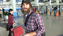 Will Forte --  Covers Up Face and 'Last Man' Secrets (VIDEO)