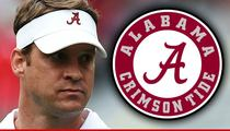 Lane Kiffin -- NOT FIRED AT ALABAMA ... Despite Banging Rumors