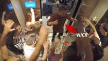 Nick Jonas -- Raging with a Bachelorette!! In a Vegas Elevator, Baby