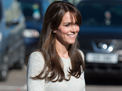 Kate Middleton Looks Picture-Perfect In Peplum for Surprise Prison Visit