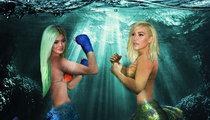 Kylie Jenner -- I'll Make A Better Mermaid Than Kim (PHOTO)