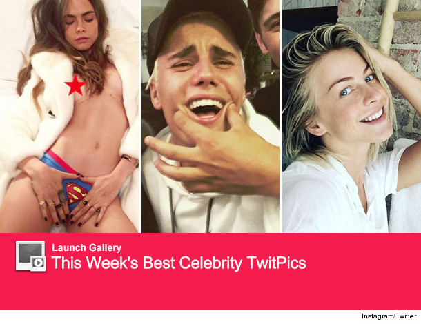 This week cara delevingne strips down to her superman panties for a