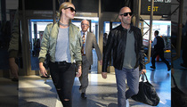 Rosie Huntington-Whiteley & Jason Statham -- The Most Badass Airport Duo Ever
