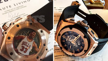 Scottie Pippen -- Pimped Out $70k Diamond Watch ... With My Face On It (PHOTOS)