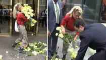 Donald Trump -- Worst Protest Ever ... Floral Fail!!! (VIDEO)