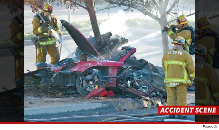 Paul Walker Car Crash Fire Body